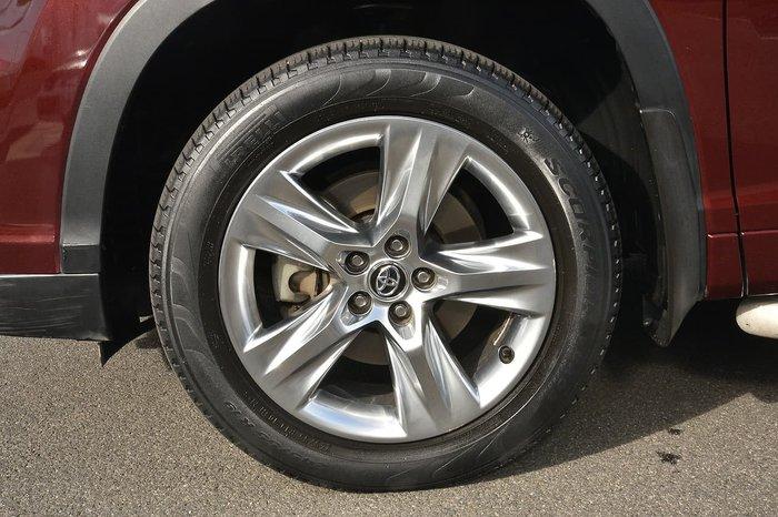 2016 Toyota Kluger Grande GSU55R AWD Red