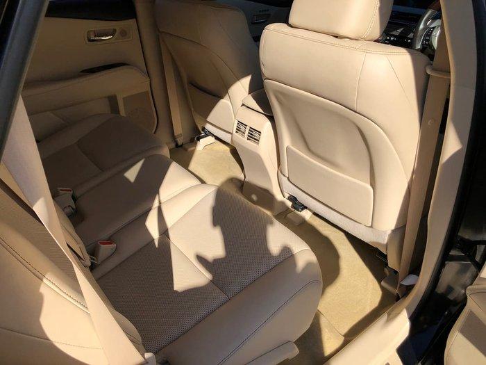 2014 Lexus RX RX350 Sports Luxury GGL15R 4X4 On Demand Black