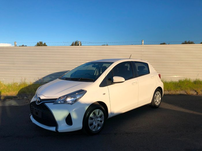2016 Toyota Yaris ASCENT NCP130R MY15 White