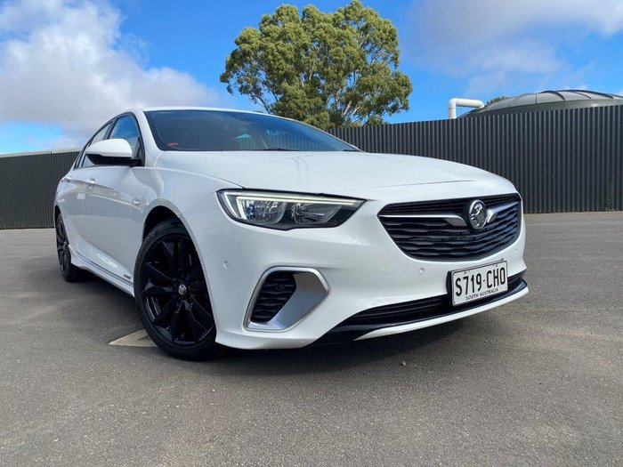 2018 Holden Commodore RS ZB MY18 AWD White
