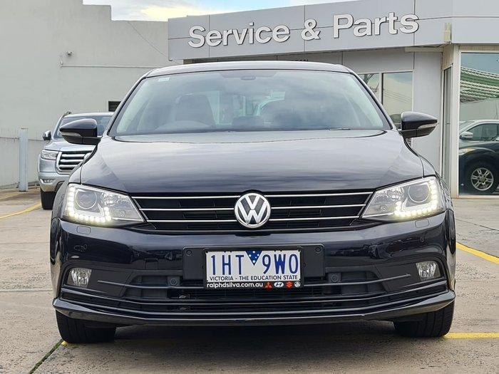 2016 Volkswagen Jetta 155TSI Highline Sport 1B MY17 Black
