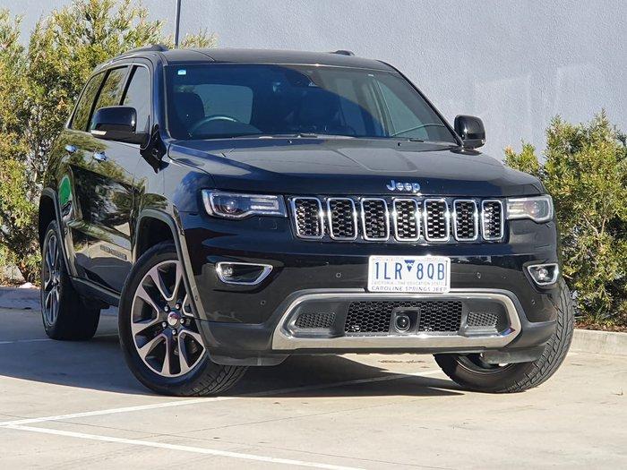 2017 Jeep Grand Cherokee Limited WK MY18 4X4 Dual Range Black