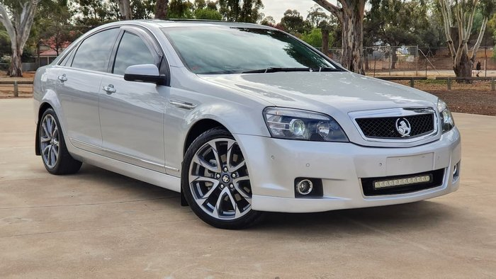 2017 Holden Caprice V WN Series II MY17 Silver