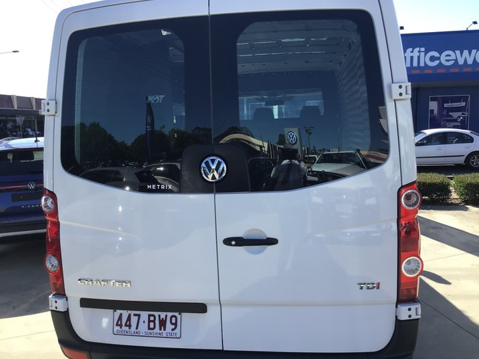 2014 Volkswagen Crafter 35 TDI340 2ED1 MY15 Candy White