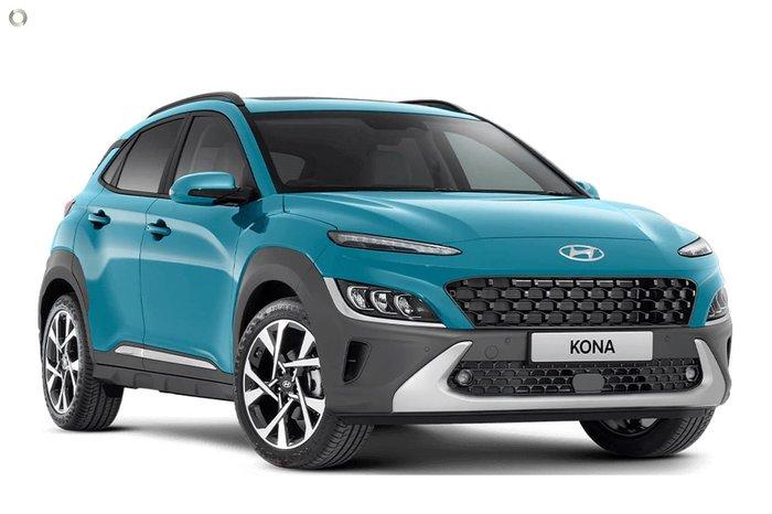 2021 Hyundai Kona Highlander OS.V4 MY21 Dive in Jeju