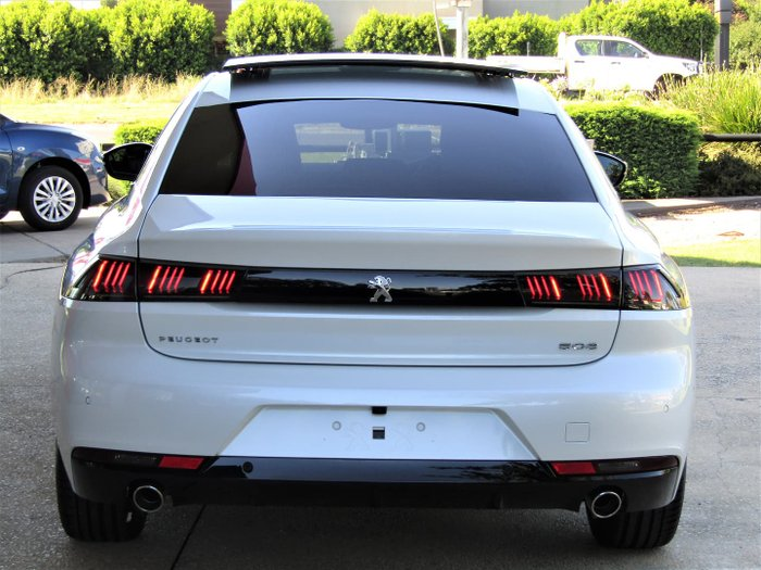 2021 Peugeot 508 GT R8 MY21 Pearl White