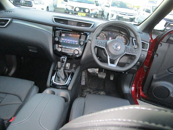 2021 Nissan QASHQAI Ti J11 Series 3 MY20 Red