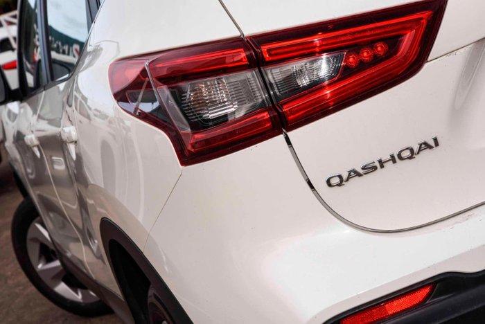 2018 Nissan QASHQAI ST J11 Series 2 Ivory Pearl