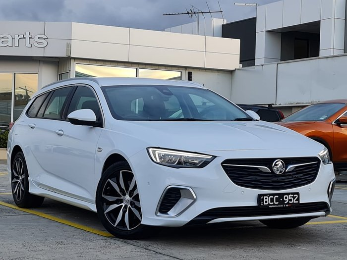 2018 Holden Commodore RS ZB MY18 White