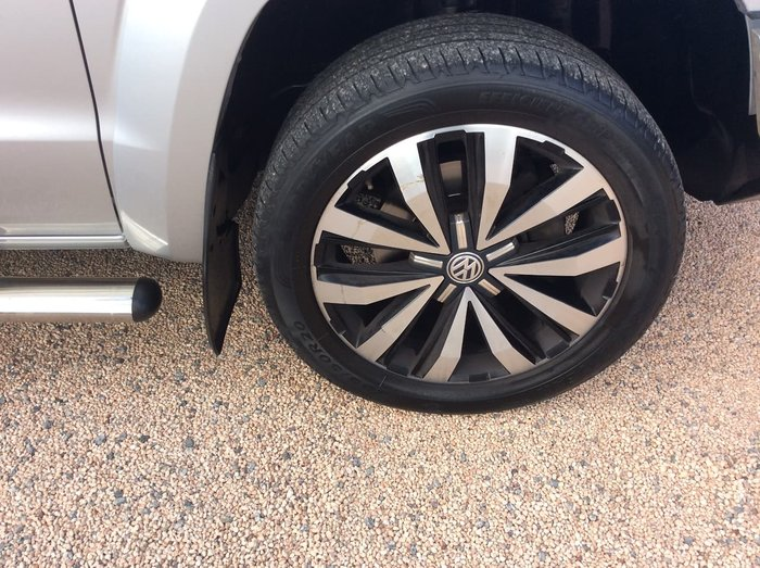2016 Volkswagen Amarok TDI550 Ultimate 2H MY17 4X4 Constant Silver