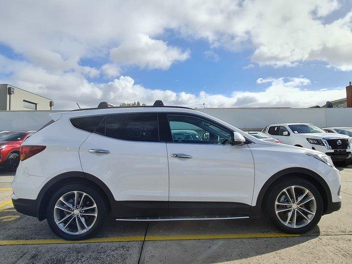 2016 Hyundai Santa Fe Highlander DM3 Series II MY16 4X4 On Demand White