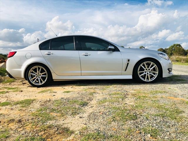 2017 Holden Commodore SS VF Series II MY17 silver