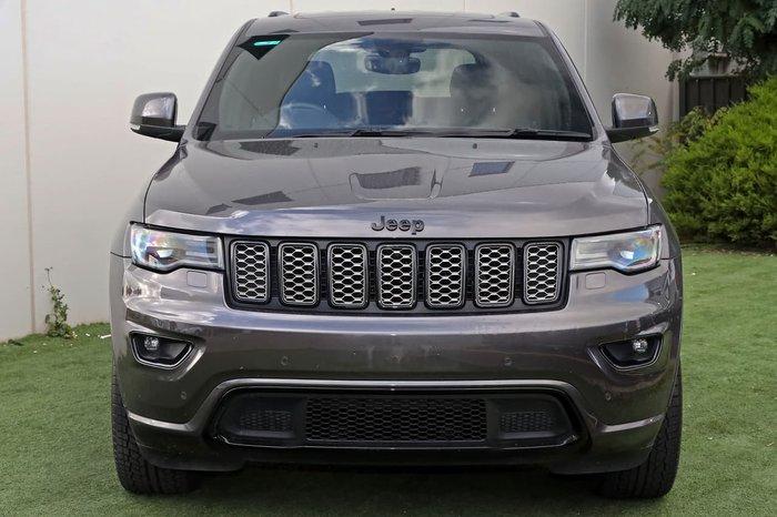 2017 Jeep Grand Cherokee Blackhawk WK MY17 4X4 Dual Range Grey