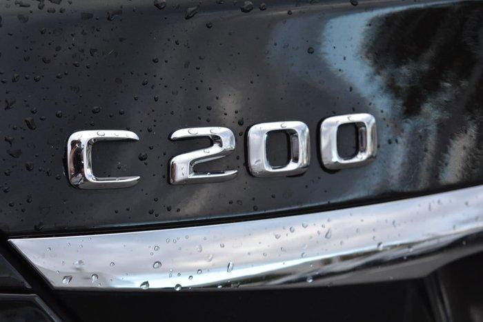 2016 Mercedes-Benz C-Class C200 W205 Black