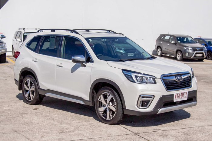 2020 Subaru Forester 2.5i-S S5 MY20 AWD Crystal White