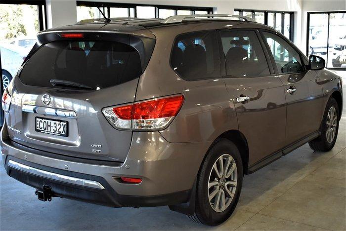 2013 Nissan Pathfinder ST R52 MY14 4X4 On Demand Gold