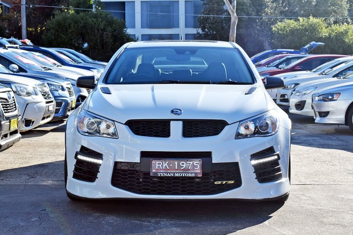 2017 Holden Special Vehicles GTS GEN-F2 MY17 White