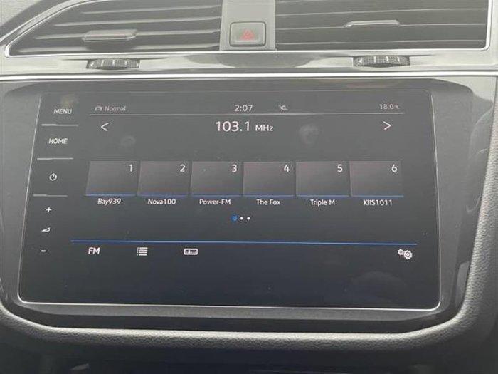 2019 Volkswagen Tiguan 162TSI Highline 5N MY20 Four Wheel Drive White