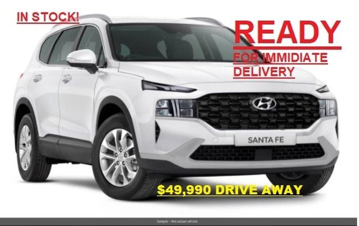 2021 Hyundai Santa Fe TM.V3 MY21 4X4 On Demand White Cream