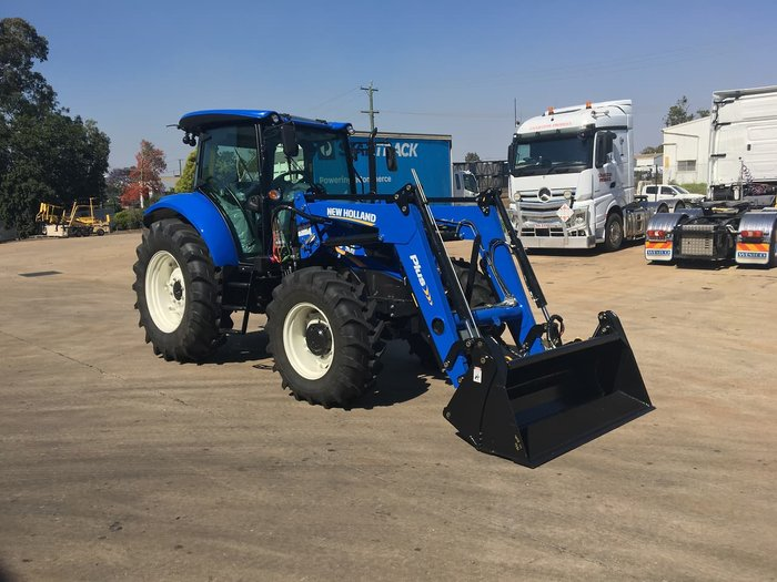 2020 NEW HOLLAND T5.100S blue