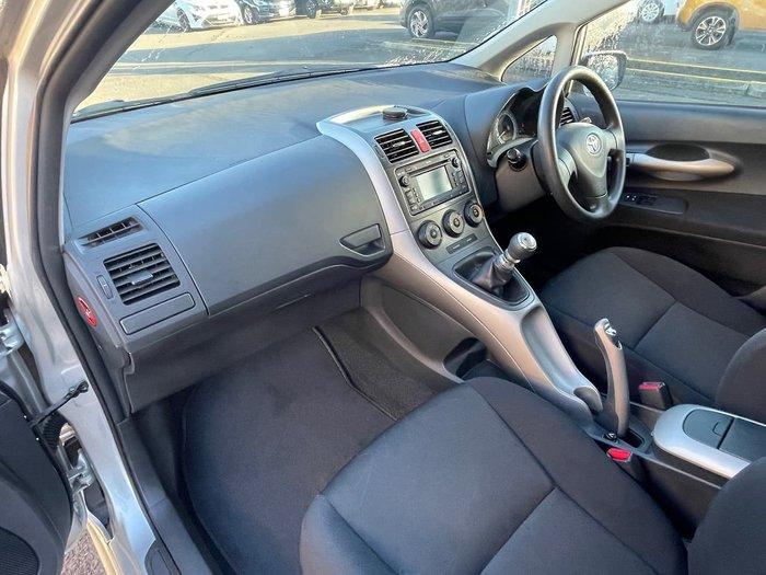 2009 Toyota Corolla Edge ZRE152R Silver