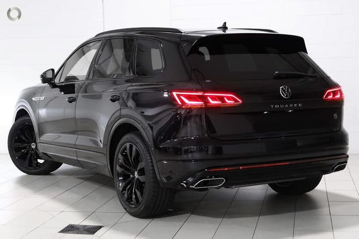 2021 Volkswagen Touareg 210TDI Wolfsburg Edition CR MY21 Four Wheel Drive Deep Black