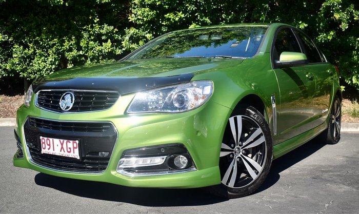 2015 Holden Commodore SV6 Storm VF MY15 Green