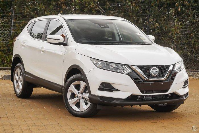 2021 Nissan QASHQAI ST J11 Series 3 MY20 Ivory Pearl