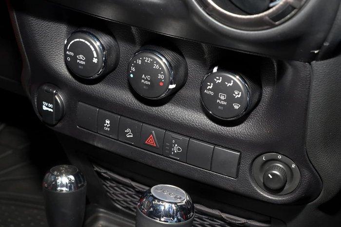 2018 Jeep Wrangler Unlimited Sport JK MY18 4X4 Dual Range Red