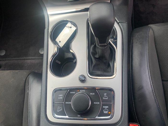2018 Jeep Grand Cherokee S-Overland WK MY19 4X4 Dual Range Bright White