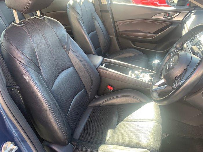 2016 Mazda 3 SP25 Astina BM Series Blue Reflex