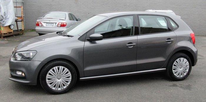 2017 Volkswagen Polo 66TSI Trendline 6R MY17 Grey