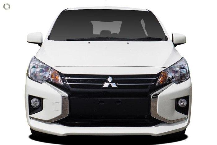 2020 Mitsubishi Mirage ES LB MY21 White