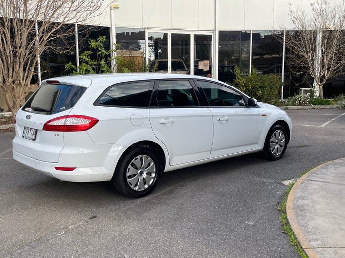 2010 Ford Mondeo LX MB MY11 Frozen White