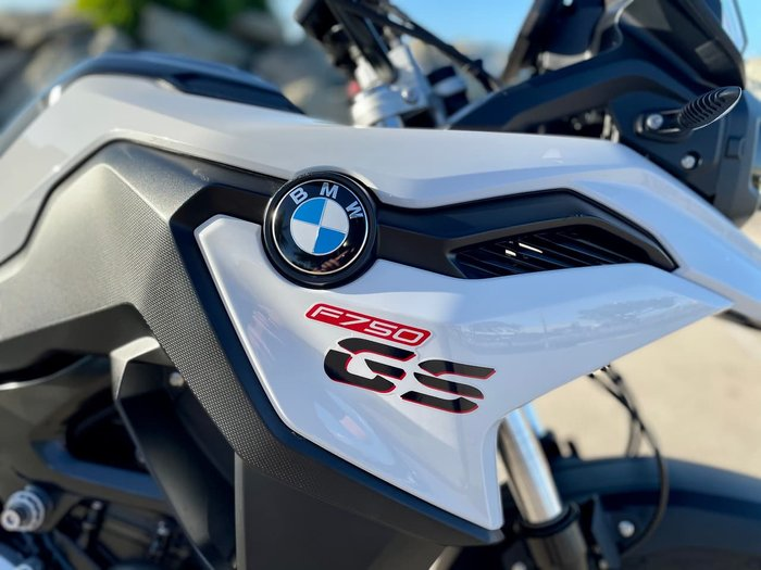 2018 BMW F 750 GS White