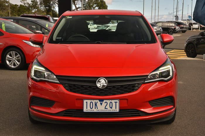 2018 Holden Astra R+ BK MY19 Red