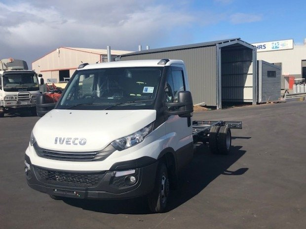 2019 Iveco Daily 50C 17/18 Cab Chassis 4x2 (4100wb) White