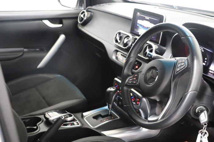2018 Mercedes-Benz X-Class X250d Progressive 470 4X4 Dual Range Silver
