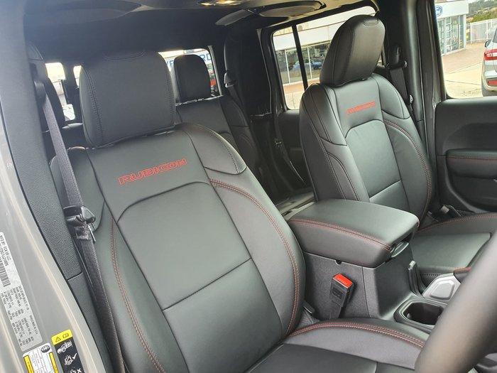 2021 Jeep Gladiator Rubicon JT MY21 4X4 On Demand Bright White