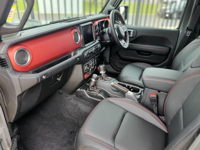 2021 Jeep Gladiator Rubicon JT MY21 4X4 On Demand White