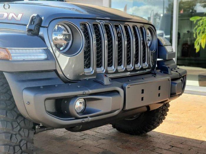 2021 Jeep Gladiator Rubicon JT MY21 4X4 On Demand Grey