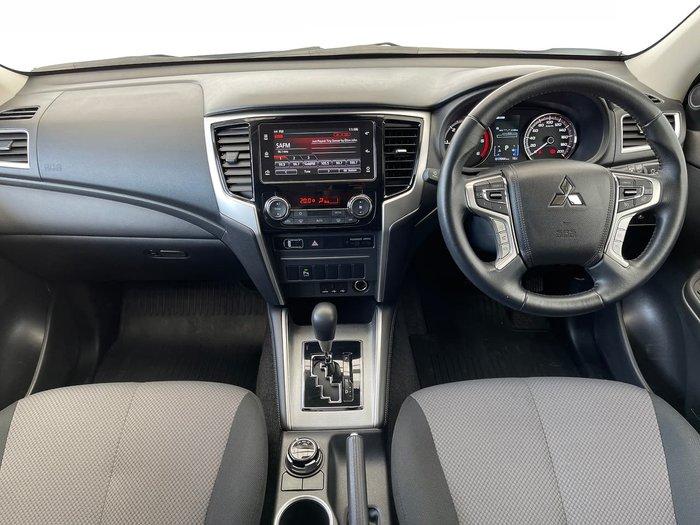 2020 Mitsubishi Triton GLX-R MR MY20 4X4 Dual Range White