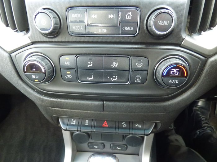 2018 Holden Colorado Z71 RG MY18 4X4 Dual Range Red