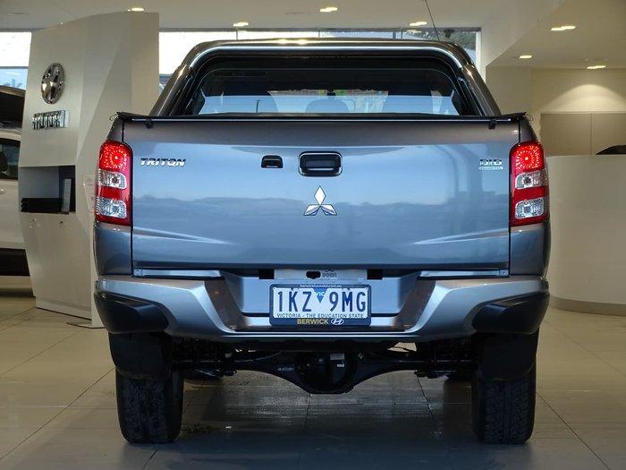 2017 Mitsubishi Triton GLS MQ MY17 4X4 Dual Range Grey
