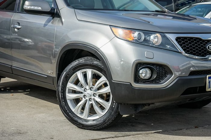 2011 Kia Sorento Platinum XM MY11 Four Wheel Drive Silver