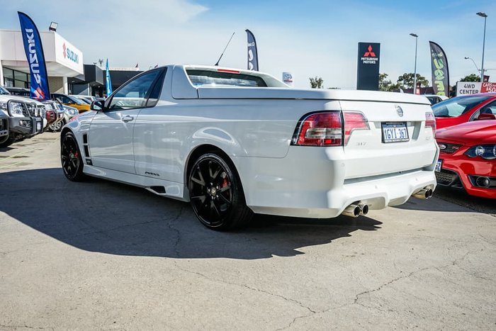 2009 Holden Special Vehicles Maloo R8 E Series MY09 Heron White