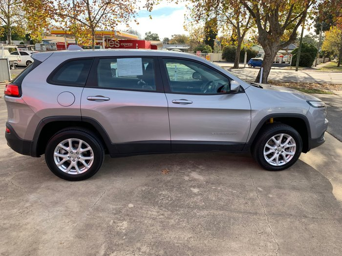 2014 Jeep Cherokee Sport KL MY15 Billet Silver