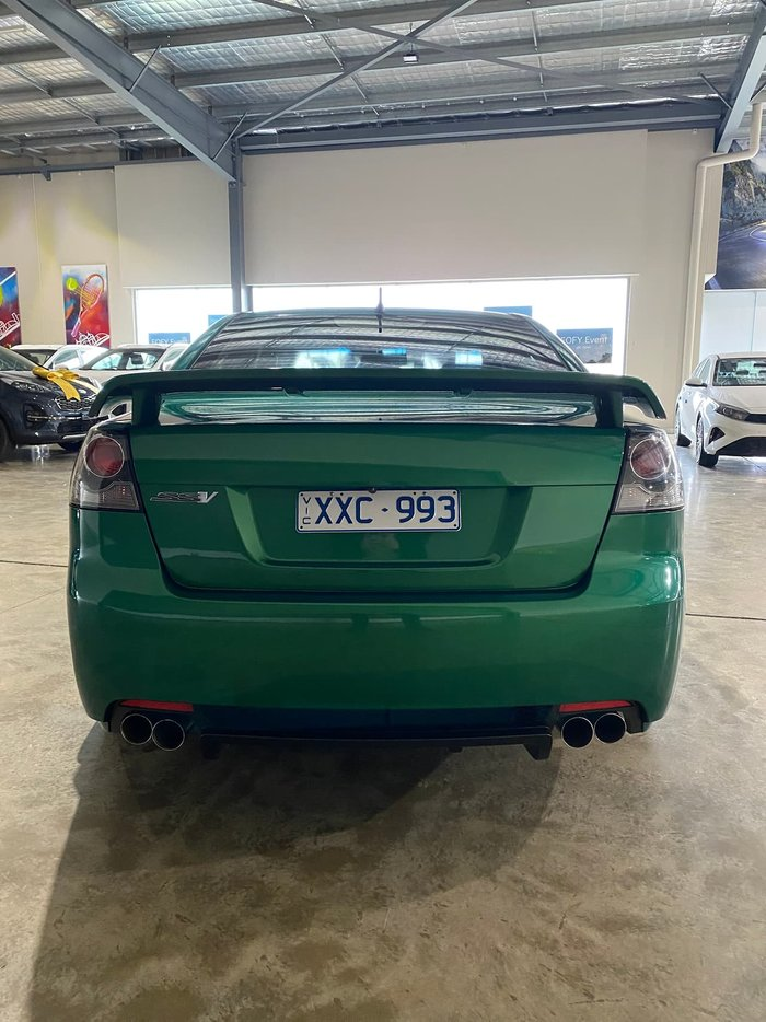 2010 Holden Commodore SS V VE MY10 Green