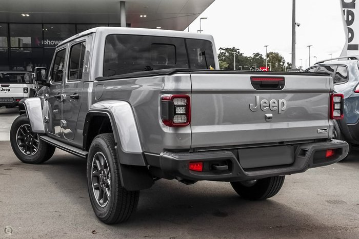 2020 Jeep Gladiator Overland JT MY20 4X4 On Demand Silver