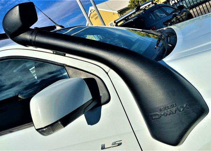 2016 Isuzu D-MAX LS-M MY15 4X4 Dual Range Splash White